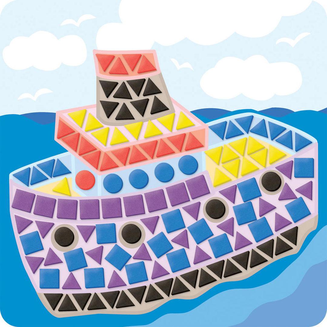Κακάβι κατασκευασμένο από Sticky Mosaic