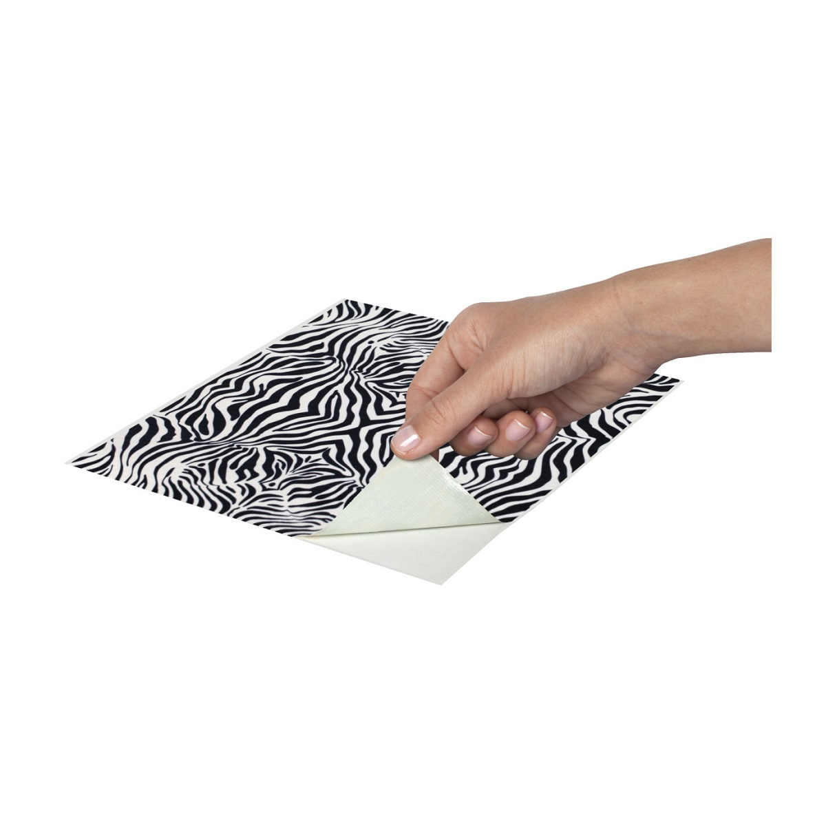 Duck Tape Sheets Stylish Zebra – Χέρι