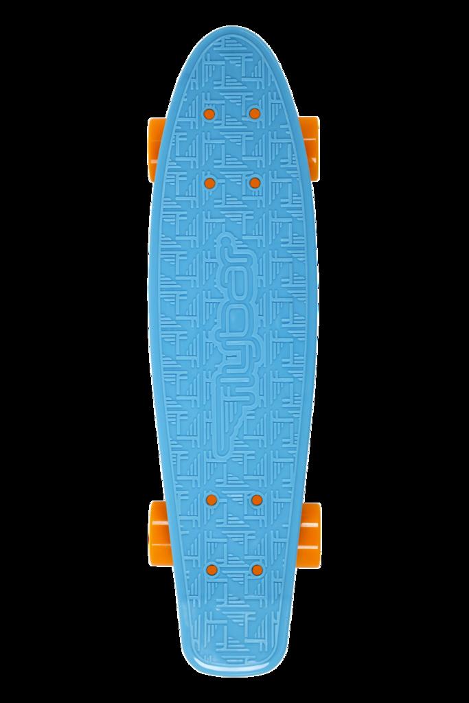 Πατίνι Cruiser 22 inch Flybar blue Σε όρθια θέση