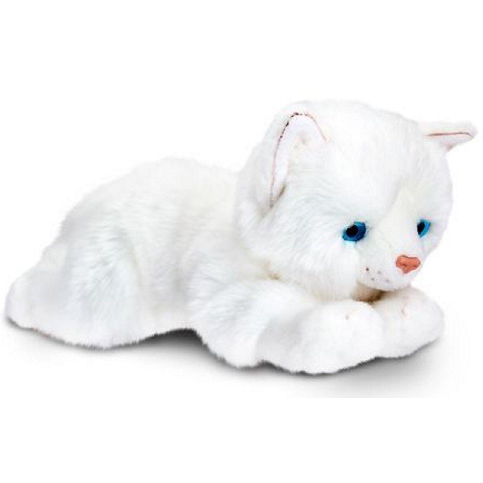 Γατούλα λευκή 25 εκατοστών