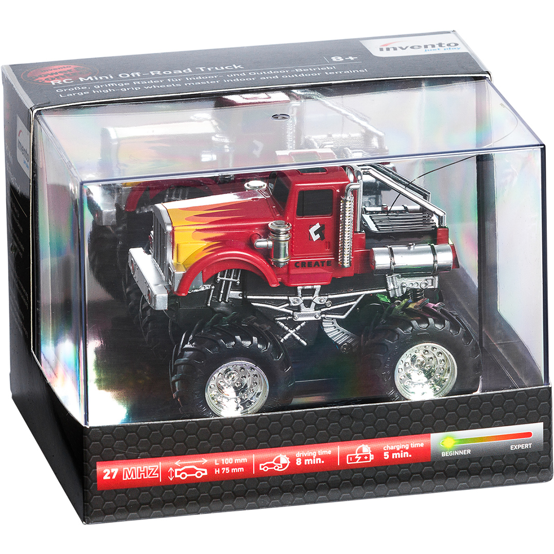 Συσκευασία για τηλεκατευθυνόμενο Monster Truck