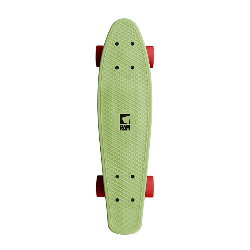 "Πατίνι Mini Cruiser Old School 22"" melon green"