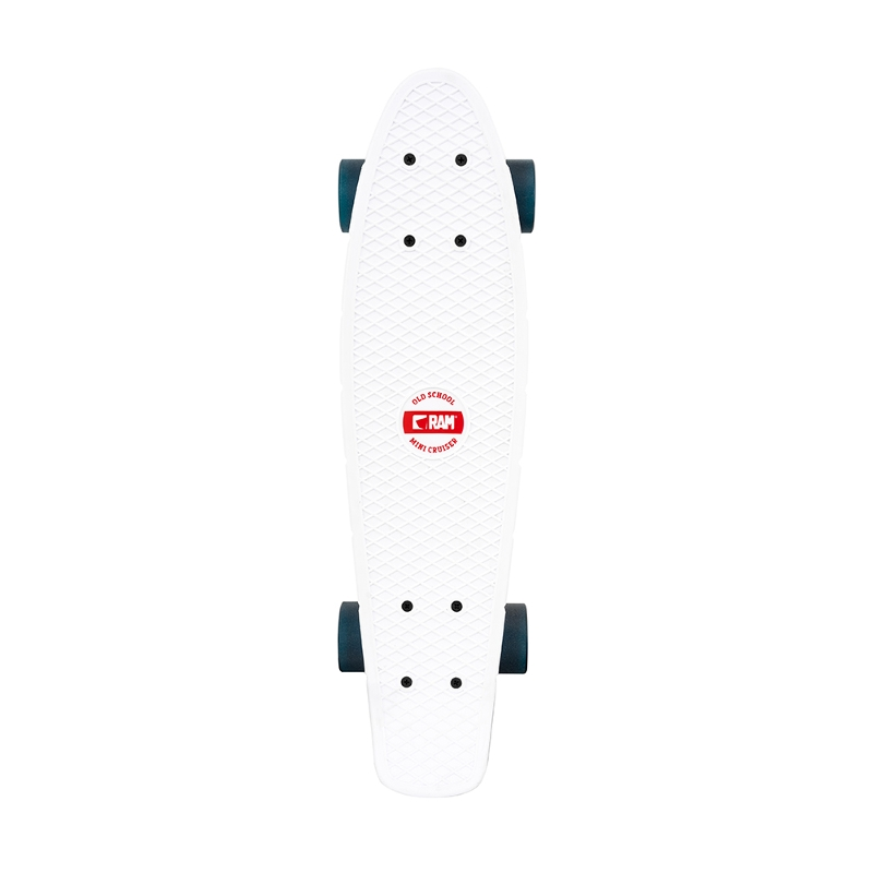 "Πατίνι Mini Cruiser Old School with LED lights 22"" Mykonos blue"