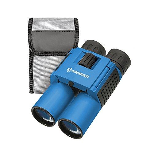 Κυάλια τσέπης Bresser Topas 10x25 Μπλε με θήκη αποθήκευσης