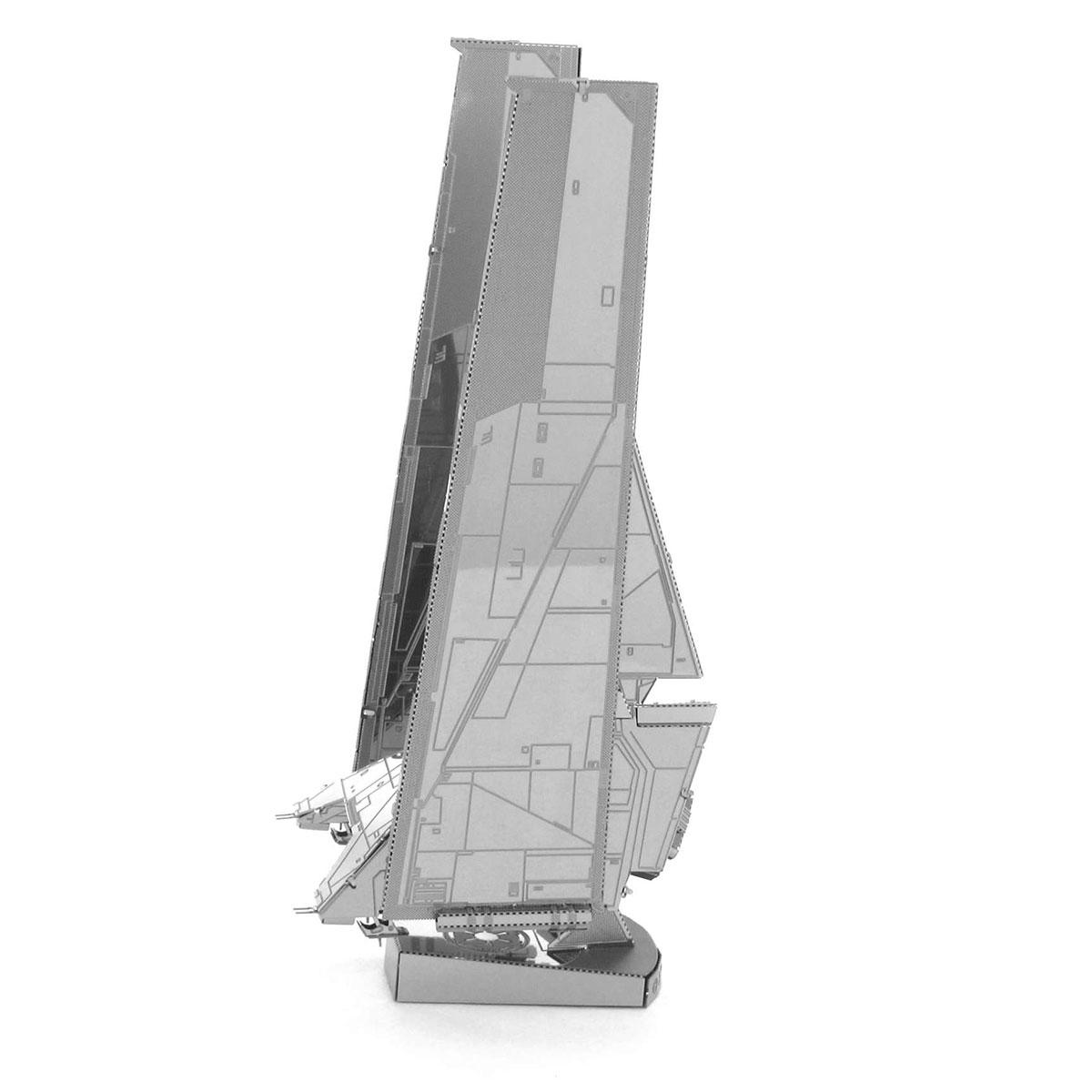 Metal Earth Krennic's Imperial Shuttle πλαϊνή όψη