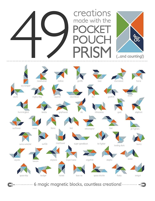 Tegu Prism Pocket Pouch Tints - Πιθανές Κατασκευές