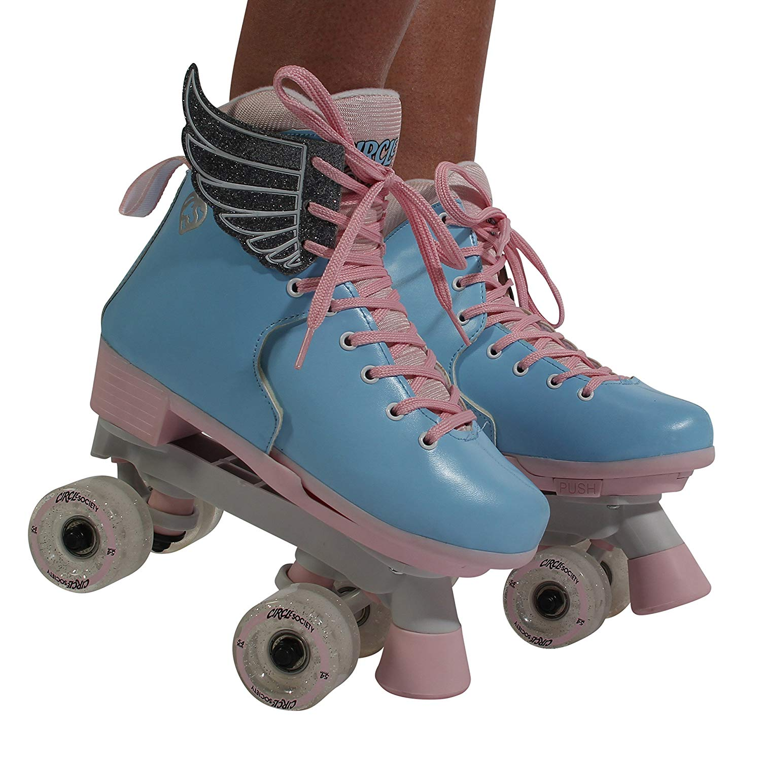 Roller Skates Cotton Candy φορεμένα