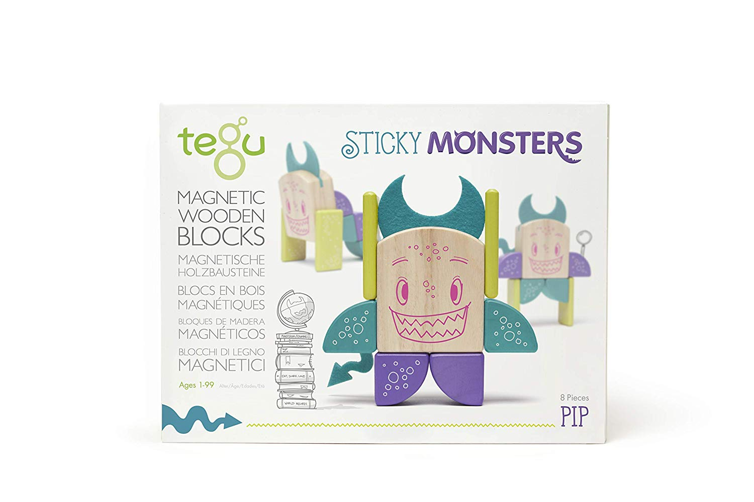 Tegu - Sticky Monsters - Pip - Συσκευασία