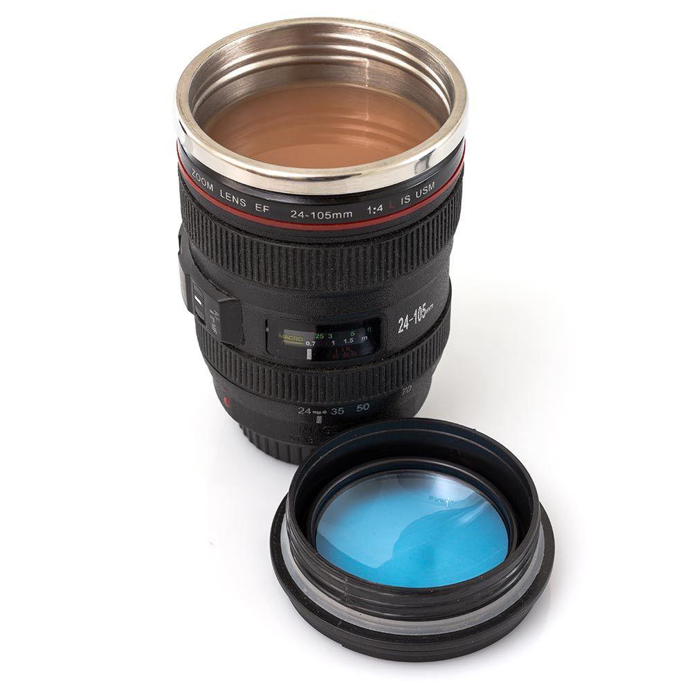Κούπα Ταξιδιού Φακός Φωτογραφικής Μηχανής