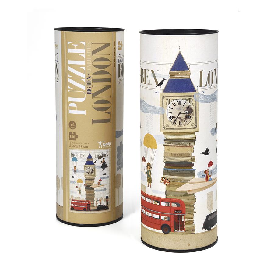 Londji - Παζλ 200 Κομματιών - Λονδίνο - Συσκευασία