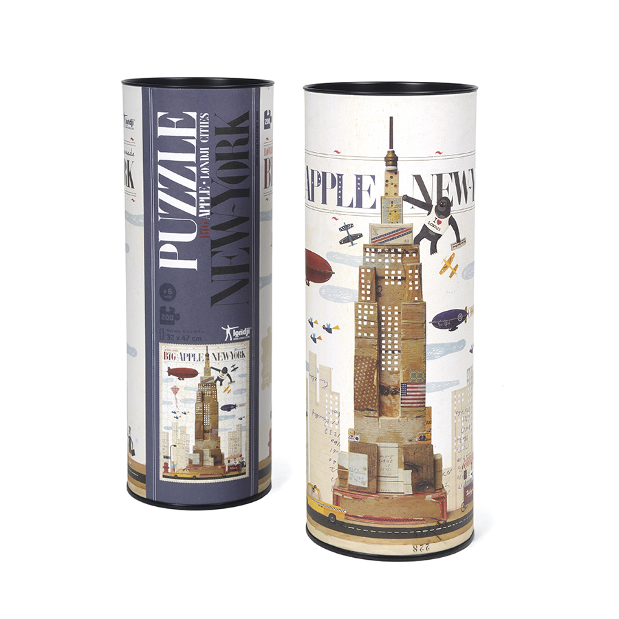 Londji - Παζλ 200 Κομματιών - Νέα Υόρκη - Συσκευασία