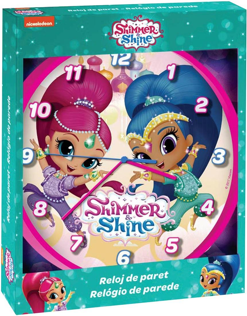 Επιτοίχιο Ρολόι Shimmer & Shine