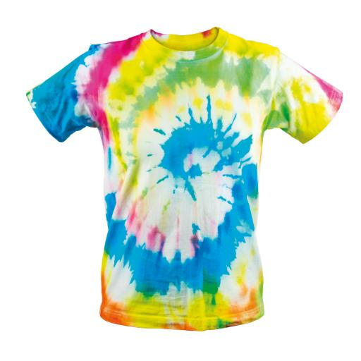 Tie Dye Kit - Κιτ για πολύχρωμες μπλούζες - Πολύχρωμη Μπλούζα 2