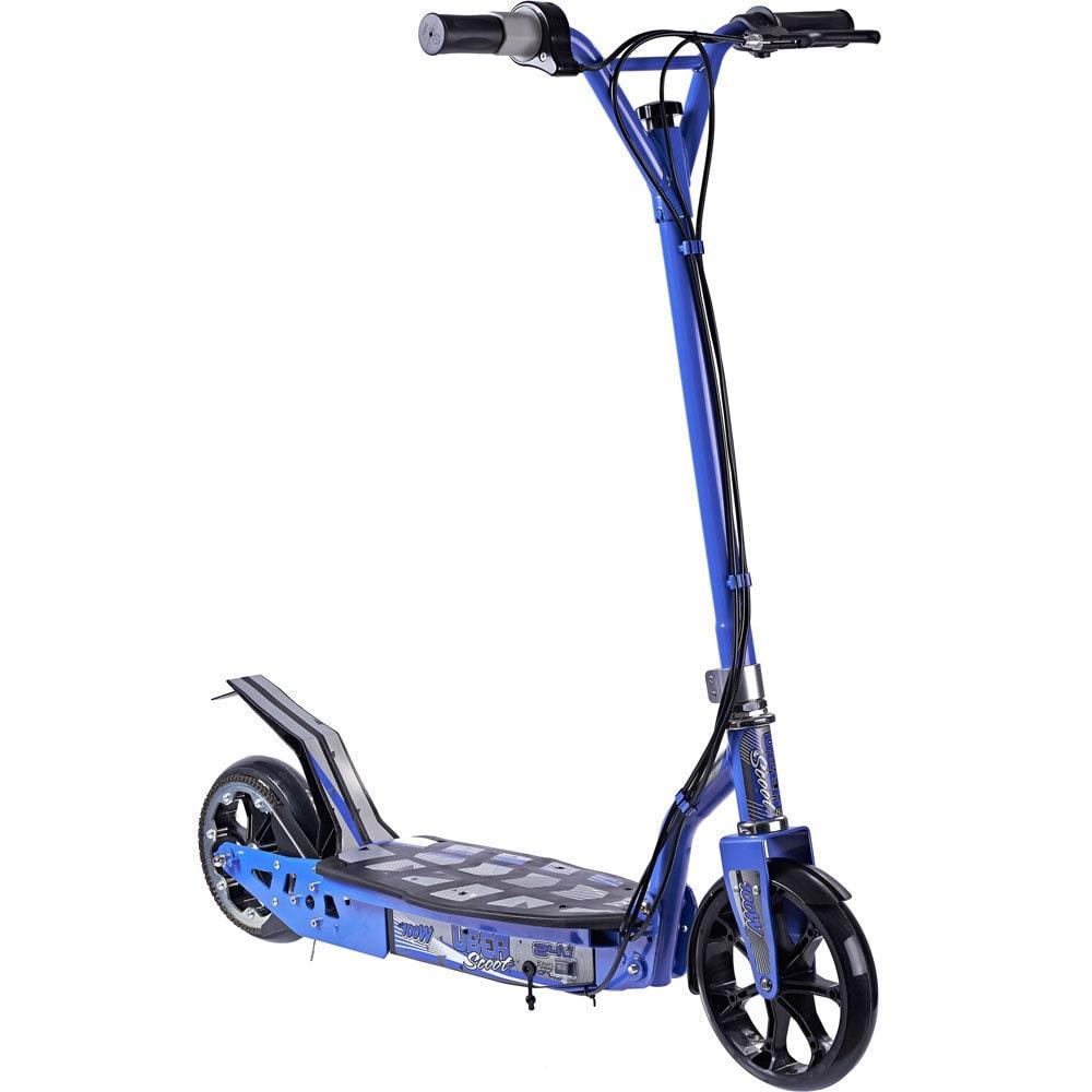 Uber Scoot ES01 100w μπλε χρώμα εμπρός όψη
