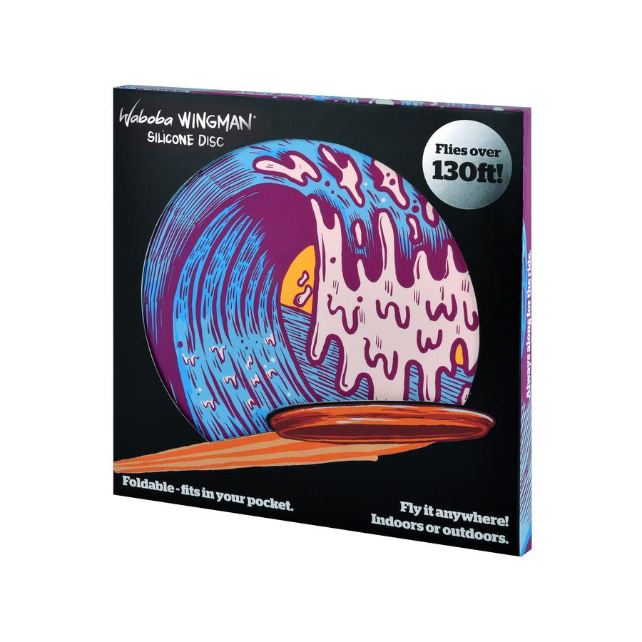 Waboba Wingman - Artist Series - Wave - Συσκευασία