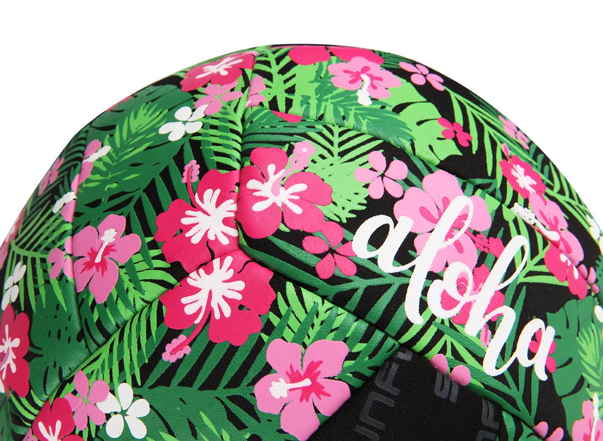Αδιάβροχη μπάλα της Sunflex 21 εκατοστών - Tropical Flower - Λεπτομέρειες