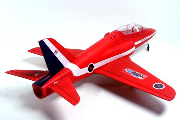 Τηλεκατευθυνόμενο αεροπλάνο Red Arrow  πίσω όψη