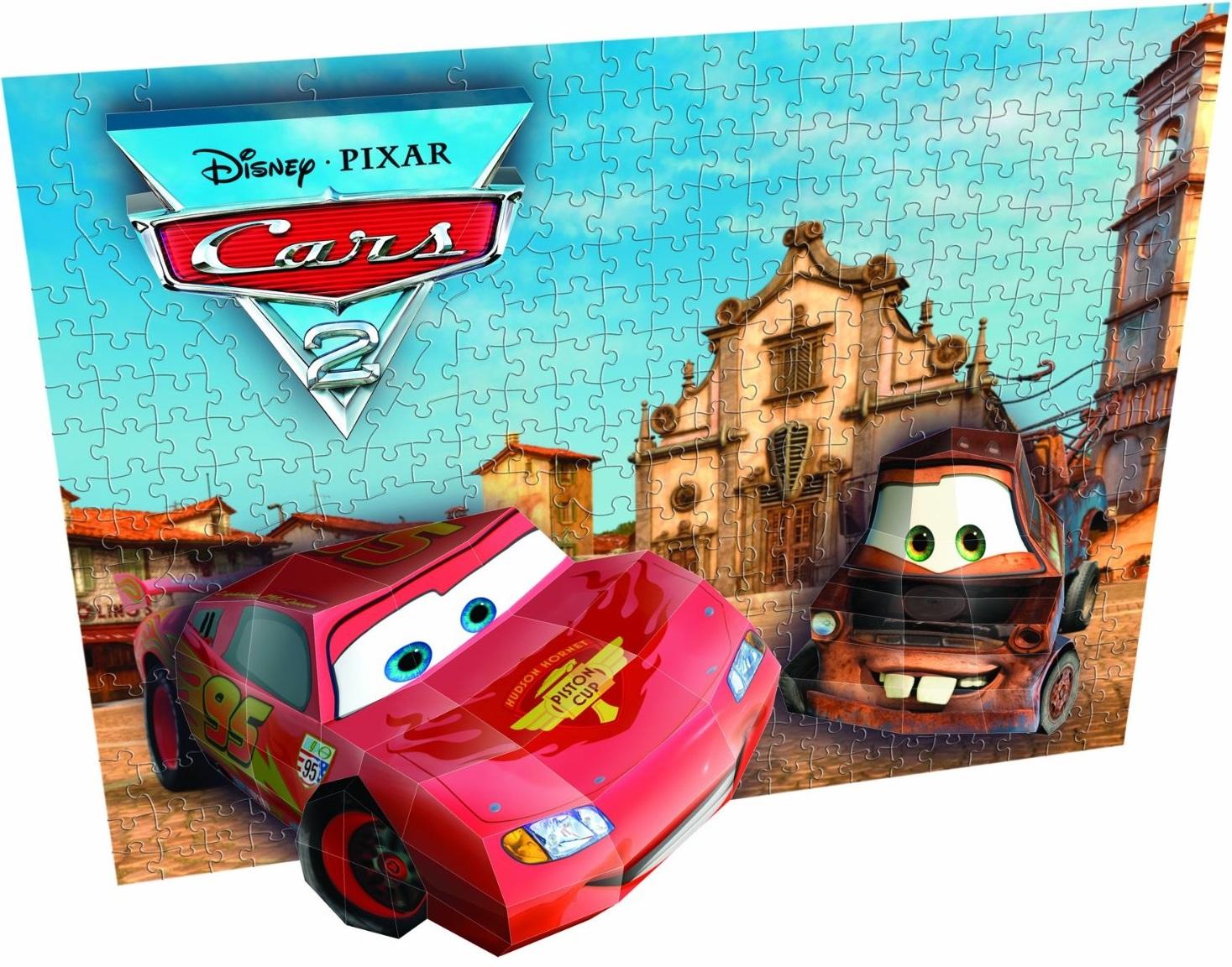 Τρισδιάστατο Πάζλ Cars 2 για Κορνίζα 250 Τεμαχίων