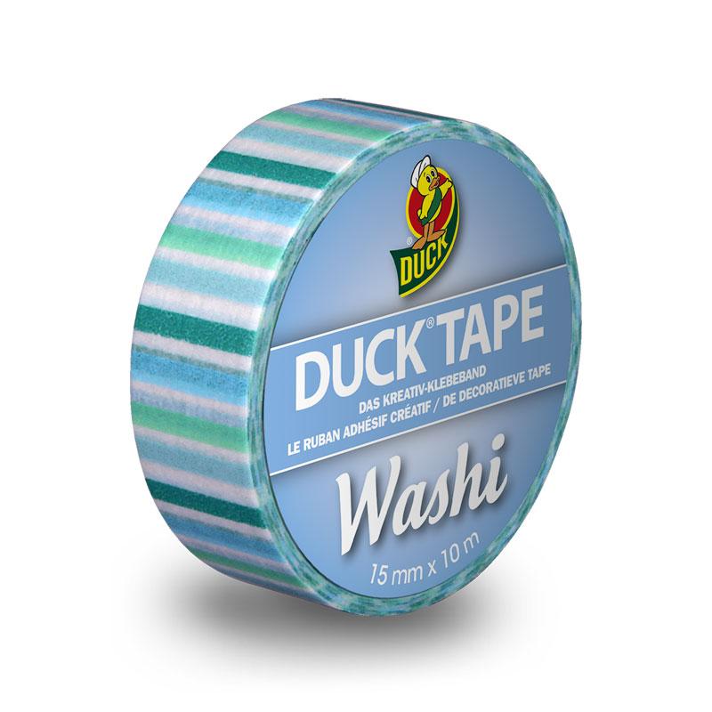 DuckTape Washi Blue Stripes