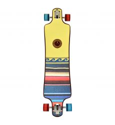Kryptonics 40'' Free Spirit Drop Down Longboard σε όρθια θέση