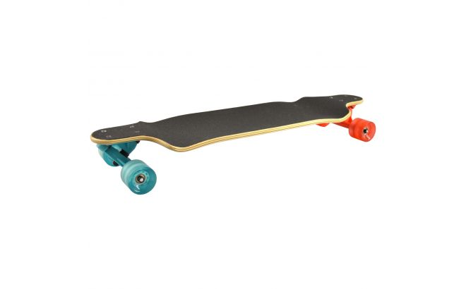 Kryptonics 32'' Triangles Drop Down Longboard