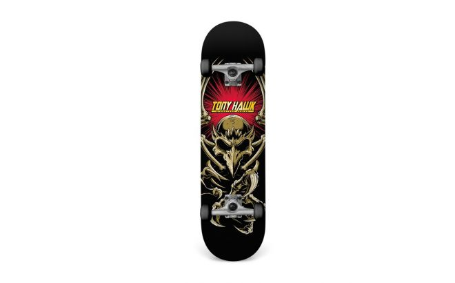 Skateboard Tony Hawk Bannerholder κάτω όψη