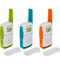 Σετ των 3 walkie-talkie T42 Talk about της Motorola