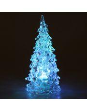Χριστουγεννιάτικο δέντρο μινιατούρα με εναλλασσόμενο φωτισμό