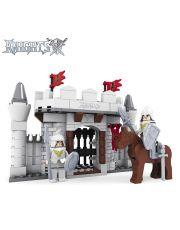 Πύλη Κάστρου Ιπποτών με φιγούρες και άλογο