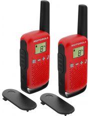 Το WalkieTalkieT42 red της Motorola είναι ο ευκολότερος τρόπος να είστε διαρκώς σε επικοινωνία με τους φίλους σας