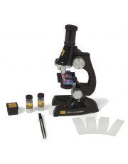 Μικροσκόπιο με φωτισμό ένα ιδανικό εργαλείο για την πρώτη επαφή των παιδιών με τον φανταστικό μικρόκοσμο.