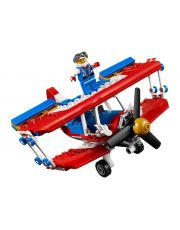 Κλασικό δίπλανο αεροσκάφος ακροβατικών Lego Creator