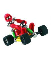 Μαγνητικές Κατασκευές Supermag  κατασκευάσετε ένα αγωνιστικό αυτοκίνητο και τον οδηγό του