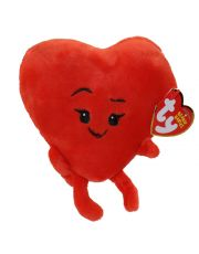 Ty Λούτρινη Φιγούρα TY42299 - The Emoji Movie - Heart