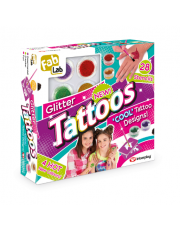Glitter Tattoos - Κιτ για πολύχρωμα τατουάζ - Συσκευασία
