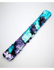Πολύχρωμο Βραχιόλι με Χάντρες glitter που αλλάζουν χρώμα