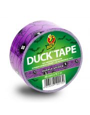 Duck Tape Purple Spider