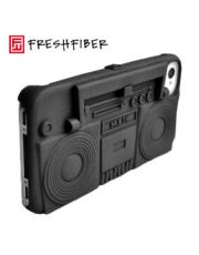 Freshfiber Θήκη και Βάση Κασετόφωνο για iPhone 4/4S Μαύρη