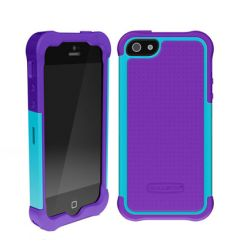 Ballistic Shell Gel Series Case Purple/Teal για iPhone 5 Μοβ Θαλασσί