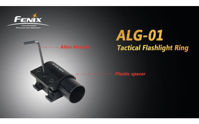 Fenix ALG-01 Tactical Flashlight Ring Parts